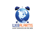 Logo for WebAlarms - Alert services on the web - Entry #169