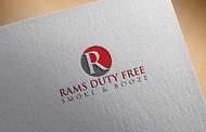 Rams Duty Free + Smoke & Booze Logo - Entry #124