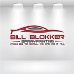 Bill Blokker Spraypainting Logo - Entry #105