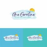 Ana Carolina Fine Art Gallery Logo - Entry #151