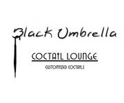 Black umbrella coffee & cocktail lounge Logo - Entry #154