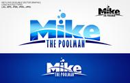 Mike the Poolman  Logo - Entry #44