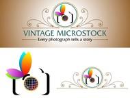 Vintage Microstock Logo - Entry #50