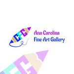 Ana Carolina Fine Art Gallery Logo - Entry #15