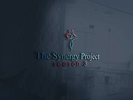 """The Synergy Project"" and place the word ""season three"" underneath in smaller front either as "" season 3"" or ""season three"" Logo - Entry #97"