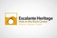 Escalante Heritage/ Hole in the Rock Center Logo - Entry #78