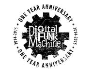 Digital Funk Machine Logo - Entry #24
