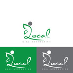 Local Girl Aesthetics Logo - Entry #21