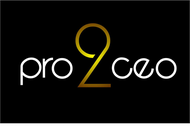 PRO2CEO Personal/Professional Development Company  Logo - Entry #80