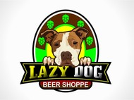 Lazy Dog Beer Shoppe Logo - Entry #17