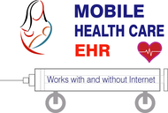 Mobile Healthcare EHR Logo - Entry #107