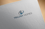 TRILOGY HOMES Logo - Entry #154