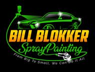 Bill Blokker Spraypainting Logo - Entry #61