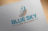 Blue Sky Life Plans Logo - Entry #129