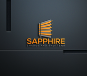 Sapphire Shades and Shutters Logo - Entry #18