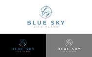 Blue Sky Life Plans Logo - Entry #310