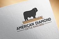American Diamond Cattle Ranchers Logo - Entry #179