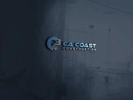 CA Coast Construction Logo - Entry #77