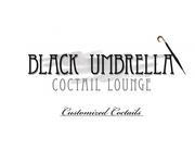 Black umbrella coffee & cocktail lounge Logo - Entry #155