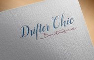 Drifter Chic Boutique Logo - Entry #201
