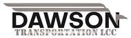 Dawson Transportation LLC. Logo - Entry #56