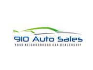 910 Auto Sales Logo - Entry #3