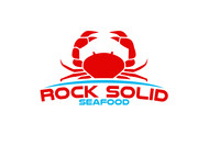 Rock Solid Seafood Logo - Entry #205