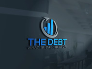 The Debt What If Calculator Logo - Entry #77