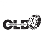 """""""OLD 55"""" - mid-century vintage furniture and wares store Logo - Entry #197"""