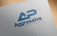 Aggressive Positivity  Logo - Entry #110