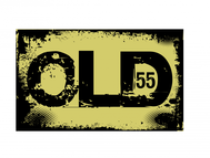 """""""OLD 55"""" - mid-century vintage furniture and wares store Logo - Entry #22"""