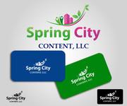 Spring City Content, LLC. Logo - Entry #42