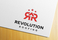 Revolution Roofing Logo - Entry #538