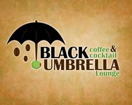 Black umbrella coffee & cocktail lounge Logo - Entry #168