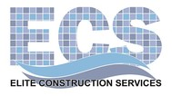 Elite Construction Services or ECS Logo - Entry #263