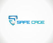 The name is SafeCage but will be seperate from the logo - Entry #8