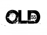 """""""OLD 55"""" - mid-century vintage furniture and wares store Logo - Entry #62"""