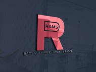 Rams Duty Free + Smoke & Booze Logo - Entry #204