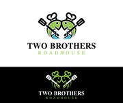 Two Brothers Roadhouse Logo - Entry #89