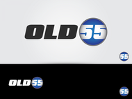"""""""OLD 55"""" - mid-century vintage furniture and wares store Logo - Entry #31"""