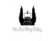 Ba Ba Bling baby Logo - Entry #90
