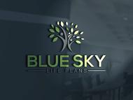 Blue Sky Life Plans Logo - Entry #71