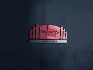 Revolution Fence Co. Logo - Entry #117