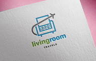Living Room Travels Logo - Entry #53