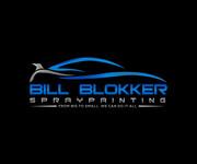Bill Blokker Spraypainting Logo - Entry #89