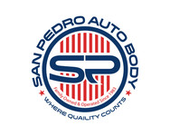 San Pedro Auto Body Logo - Entry #83