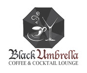 Black umbrella coffee & cocktail lounge Logo - Entry #125