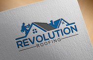 Revolution Roofing Logo - Entry #284