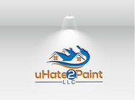 uHate2Paint LLC Logo - Entry #67