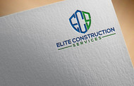 Elite Construction Services or ECS Logo - Entry #328